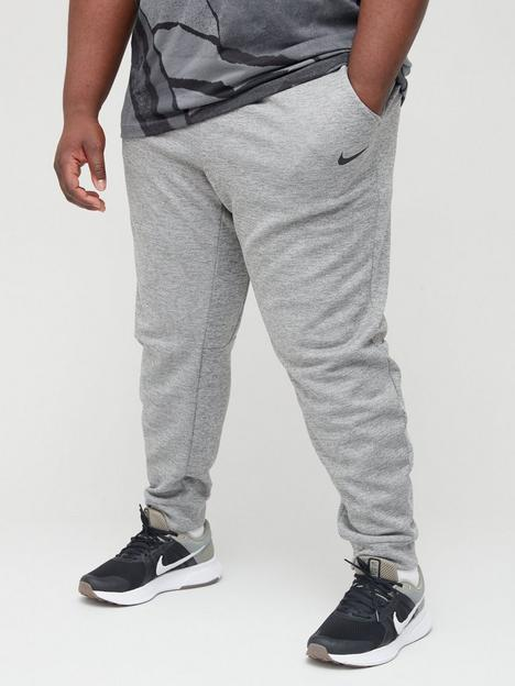 nike-training-plus-size-therma-taper-pants-dark-grey