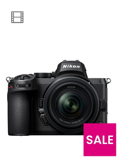 nikon-z-5-cameranbsp-nikkor-z-24-50mm-ftz-adapter-kit