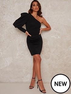 chi-chi-london-curve-finola-one-shoulder-bodycon-mini-dress-black