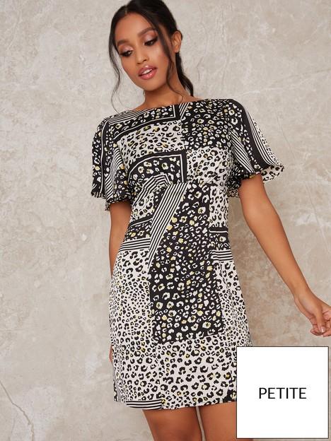 chi-chi-london-petite-chi-chi-petite-vida-printed-mini-dress-monochrome