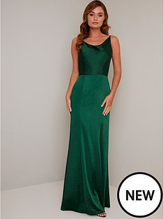chi-chi-london-molly-mae-bodycon-maxi-dress-green