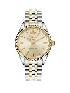 vivienne-westwood-vivienne-westwood-seymour-champagne-gold-sunray-dial-two-tone-stainless-steel-jubilee-bracelet-watch