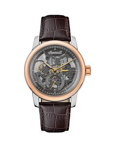 ingersoll-ingersoll-the-baldwin-silver-and-rose-gold-detail-skeleton-dial-brown-leather-strap-watch