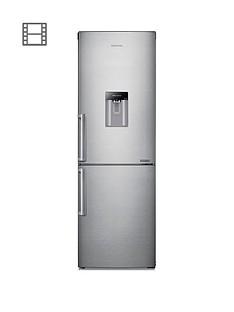 prod1089764336: RB29FWJNDSA/EU 60cm Wide Frost-Free Fridge Freezer with Digital Inverter Technology and- Silver