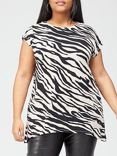 v-by-very-curve-printed-longline-t-shirt-zebra-print
