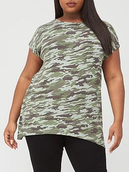 v-by-very-curve-printed-longline-t-shirt-camouflage