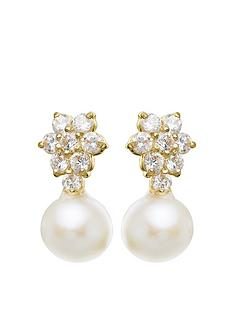 love-pearl-9ct-gold-cubic-zirconia-and-5mm-fresh-water-pearl-stud-earrings