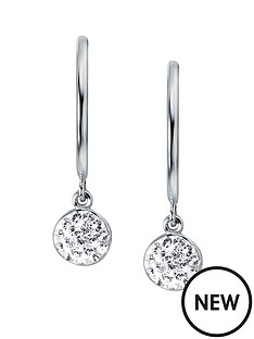evoke-rhodium-plated-sterling-silver-clear-swarovski-crystals-round-half-hoop-stud-earrings