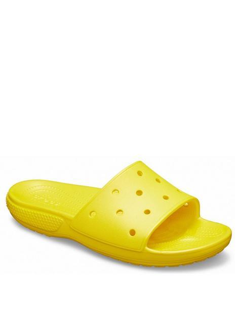 crocs-classic-slide-flat-sandal--nbspyellow