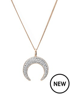 evoke-rose-gold-plated-sterling-silver-clear-swarovski-crystal-crescent-moon-pendant