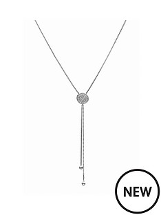 evoke-rhodium-plated-sterling-silver-clear-swarovski-crystals-disc-box-chain-lariat-necklace