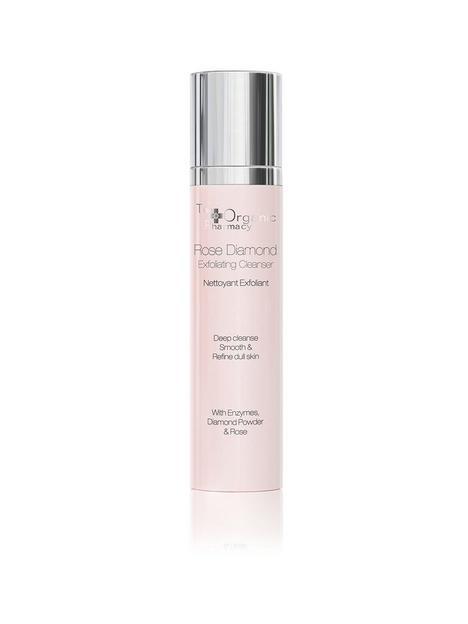 the-organic-pharmacy-rose-diamond-exfoliating-cleanser