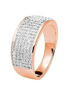 evoke-rose-gold-platednbspsterling-silver-clear-swarovski-crystals-8mm-band-ring