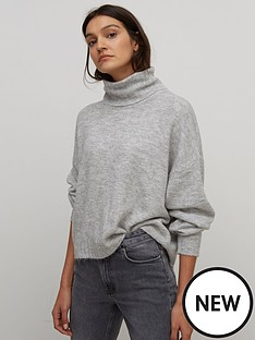 nobodys-child-roll-neck-jumper-grey