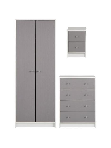 kansas-piece-childrens-bedroom-package-2nbspdoornbspwardrobe-4-drawer-chest-and-2-drawer-bedside-chest