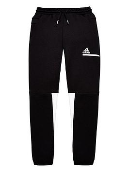 adidas-boys-znenbsppants-black-white