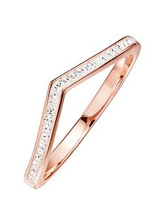 evoke-rose-gold-plated-sterling-silver-clear-swarovski-crystals-wishbone-ring