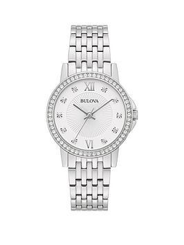 bulova-silver-crystal-set-dial-stainless-steel-bracelet-ladies-watch
