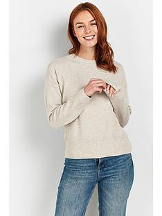 wallis-dellia-crew-neck-jumper-oatmeal