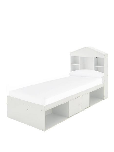 alpha-bednbspwith-house-storagenbspheadboard-and-mattress-options-buy-and-save