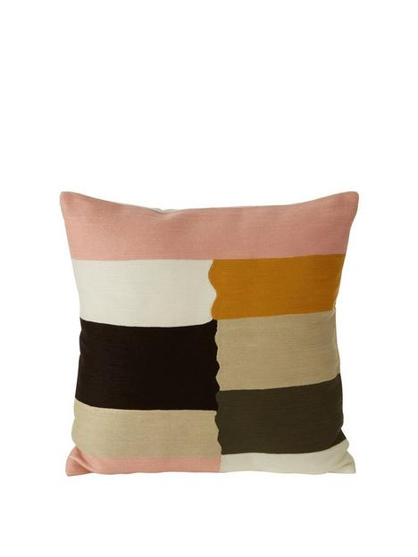 premier-housewares-bosie-ozella-pinkbeige-cushion