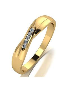 moissanite-moissanite-9ct-yellow-gold-shaped-wedding-band