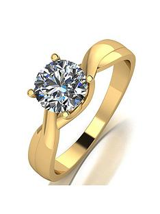 moissanite-moissanite-9ct-yellow-gold-1ct-equivalent-solitaire-ring
