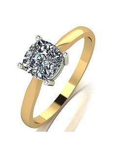 moissanite-9ct-yellow-gold-11ct-equivalent-cushion-solitaire-ring