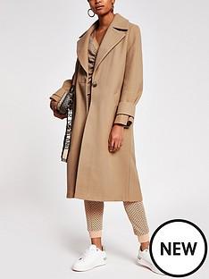 river-island-single-breasted-smart-coat-camel