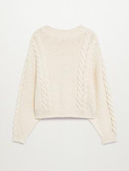 mango-lounge-cable-knit-jumper-beige