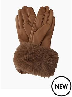 dune-london-ivonne-gloves-camel