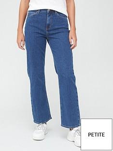 v-by-very-shortnbsphigh-waist-straight-leg-jean-mid-wash