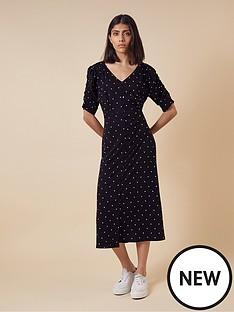 monsoon-spot-sustainable-dress-black