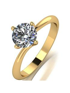 moissanite-9ct-yellow-gold-1ct-equivalent-solitaire-twist-ring