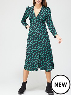 v-by-very-v-neck-long-sleeve-midi-dress-heart-print