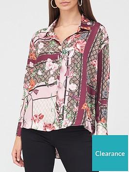river-island-printed-oversized-stepped-hem-shirt-pink
