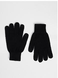 river-island-knit-gloves
