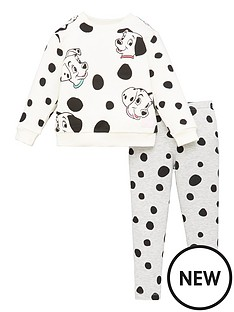 disney-101-dalmatians-girls-disney-2-piece-set-whitegrey