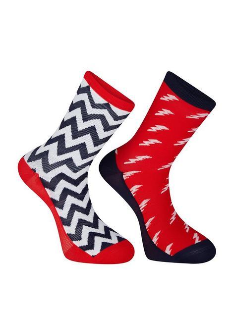 madison-sportive-long-sock-twin-pack-true-redink-navy
