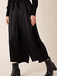 monsoon-spot-satin-crop-trouser