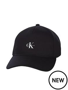 calvin-klein-jeans-logo-cap-black