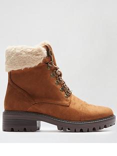 dorothy-perkins-mills-fauxnbspfur-cuff-hiker-boots-tan