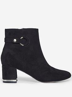 dorothy-perkins-aria-ring-detail-gold-heel-bootie-black