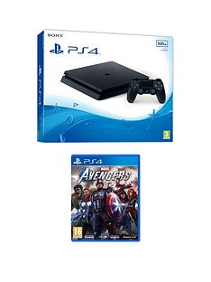 playstation-4-ps4nbspwith-marvel-avengers-and-optional-extras-500gb-console