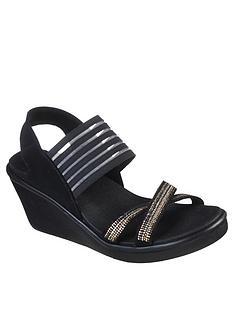 skechers-rumble-on-rhinestone-stretch-vamp-sling-back-wedge-sandal--nbspblack