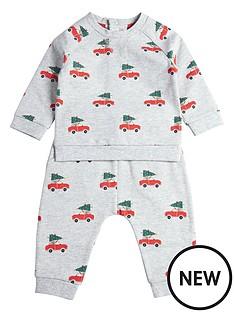 mamas-papas-baby-boys-christmas-sweat-amp-jogger-set-grey