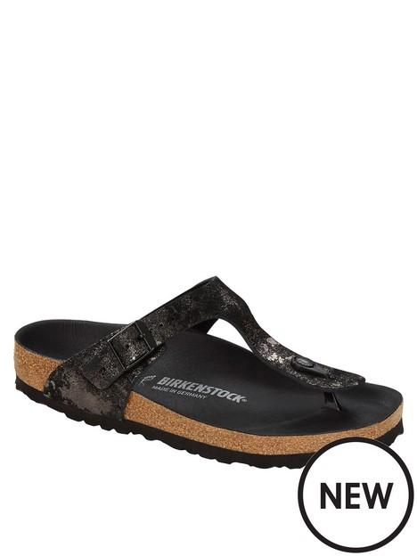 birkenstock-metallic-gizeh-flip-flop--nbspblack