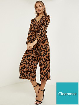 quiz-animal-print-jumpsuit-brown-amp-black