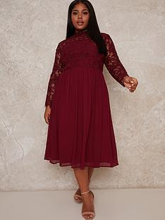 chi-chi-london-curve-ella-louise-dress-red