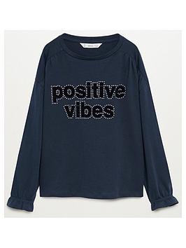 mango-girls-positive-long-sleeve-t-shirt-navy